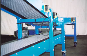 Example conveyor, conveyor system